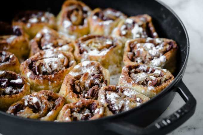 Maple Keto Cinnamon Rolls   Peace Love and Low Carb