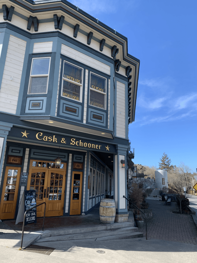 Cask and Schooner - Places to eat on San Juan Island | Peace Love and Low Carb