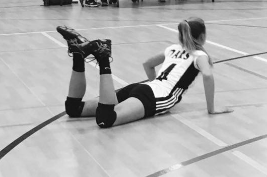 This will forever be one of my favorite photos of my daughter. Giving it her all. Showing her passion and determination. Leaving it all on the court.