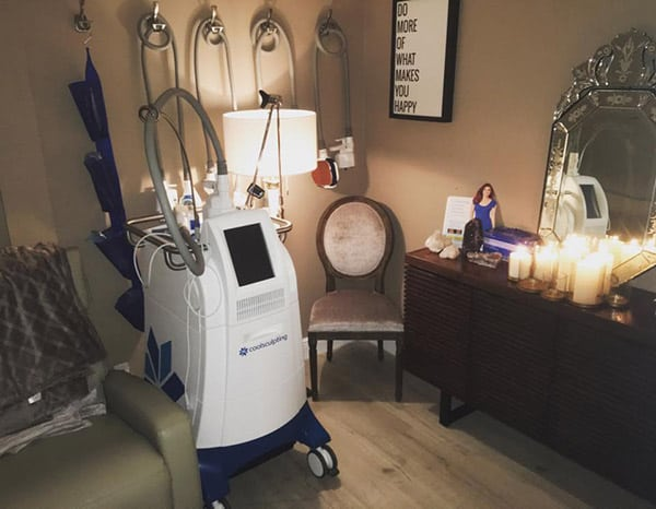 the machine for the service of coolsculpting in boca raton