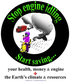 Engine Idling Posters | The Peacemaker Foundation