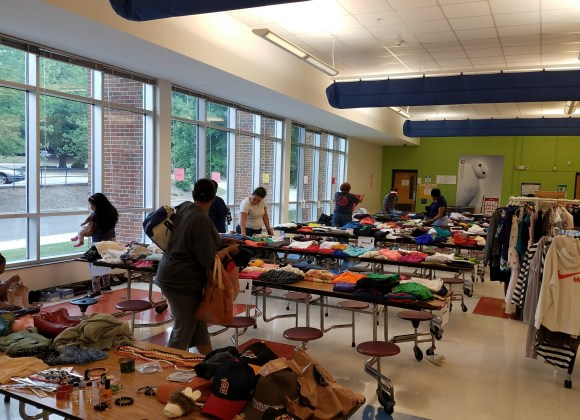 clothing giveaway community durham