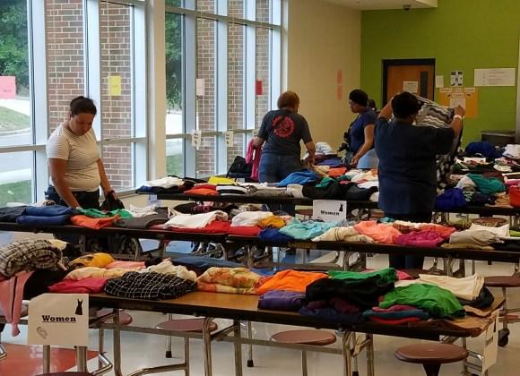 clothing giveaway community durham
