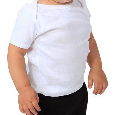 Organic Cotton Infant Lapover Tee