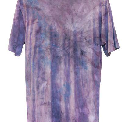Trippy dye on Hemp and Cotton