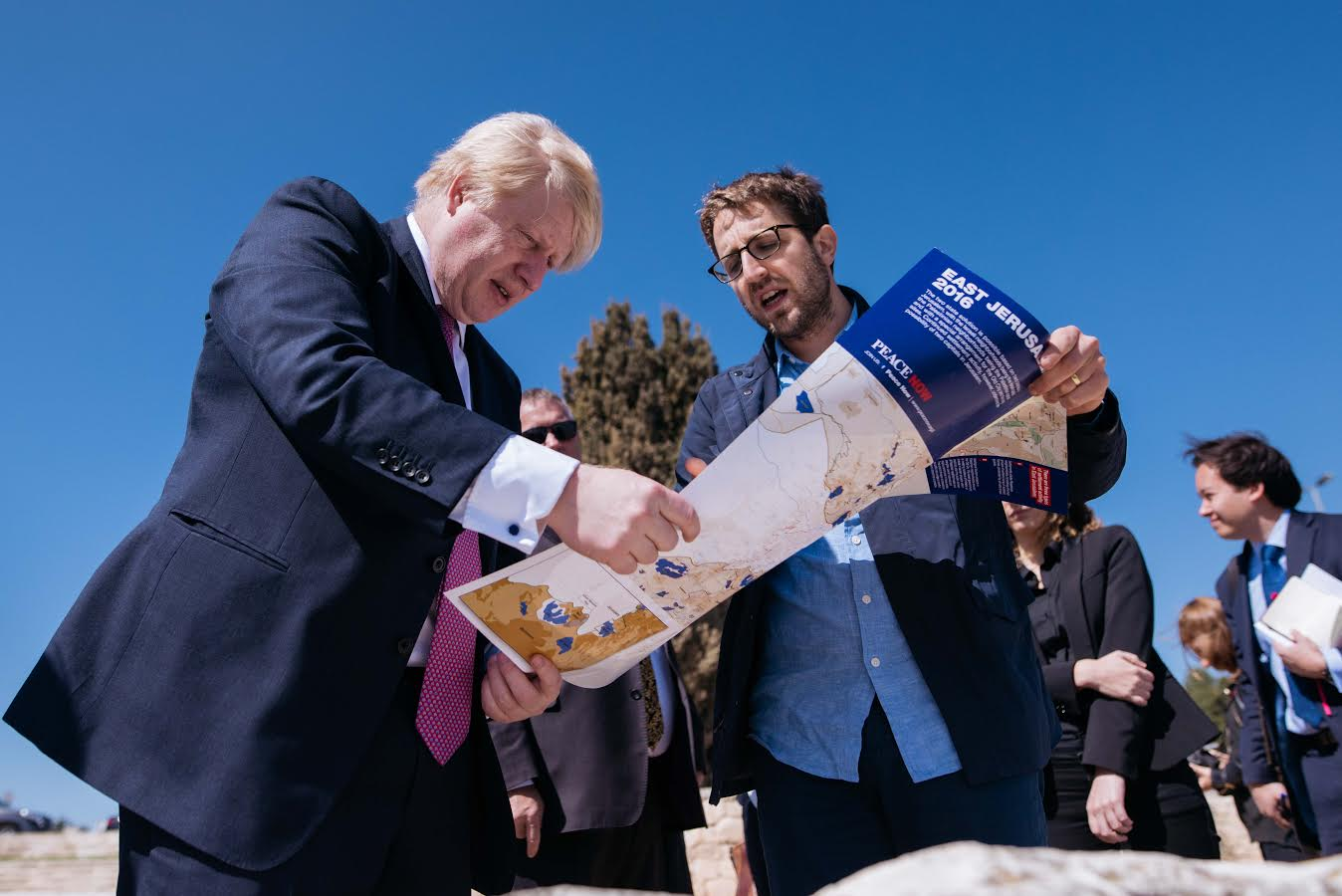 Image result for boris johnson maale adumim