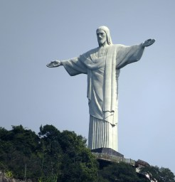 Christ the Redeemer after restoration - Peace Revolution