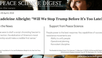 Successful Diplomacy in Southeast Asia · Peace Science Digest