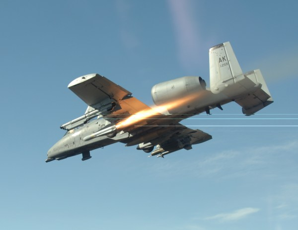 Fairchild Republic A10 Thunderbolt II Peace Through Victory