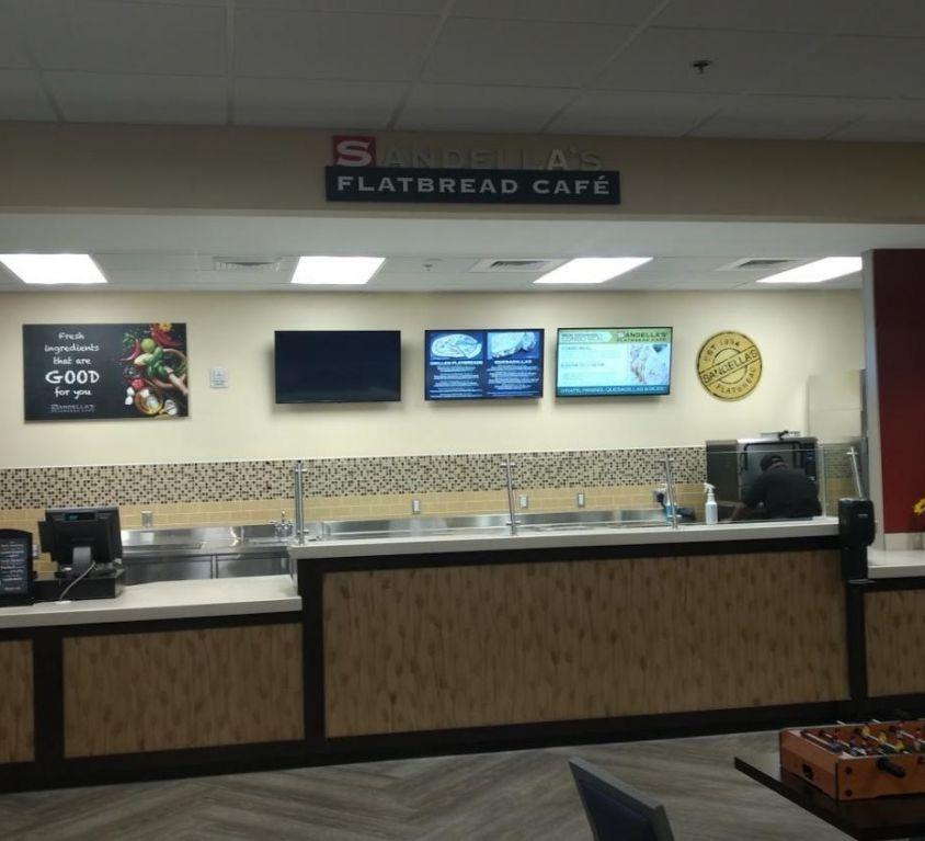 Sandela's Cafe at 2nd Belk, WPU