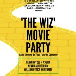 The Wiz Movie Party Flyer
