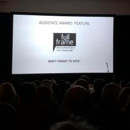 "Audience waiting for ""Kifaru"" to start at Full Frame Fest"