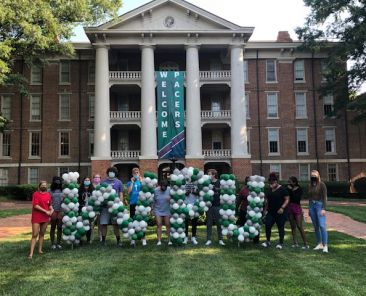 Fall 2020 Peer Mentors. Picture supplied by Dawn Dillon.