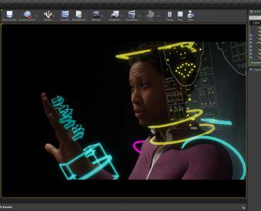 Metahuman Demo Screenshot