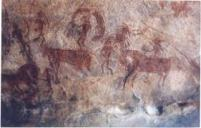 African cave drawings