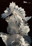 Chihuly glass sculpture, glass flowers, Denver Botanical Garden
