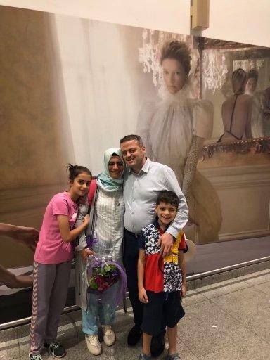 Turkish family reunion