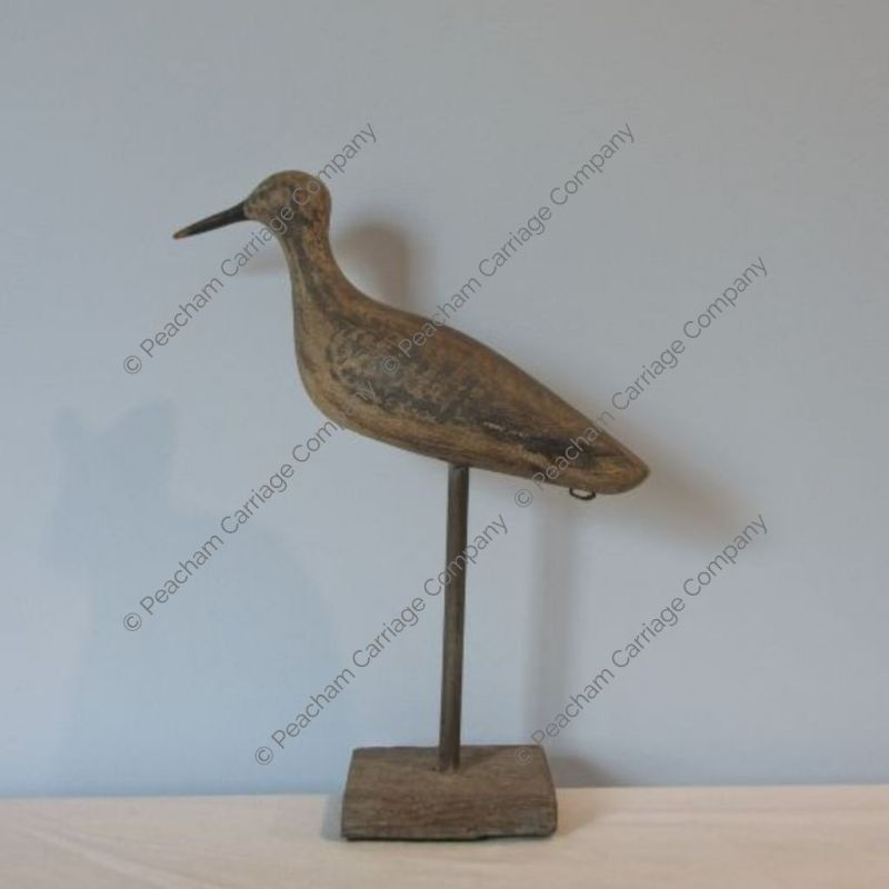 Shorebird Decoy on Stand