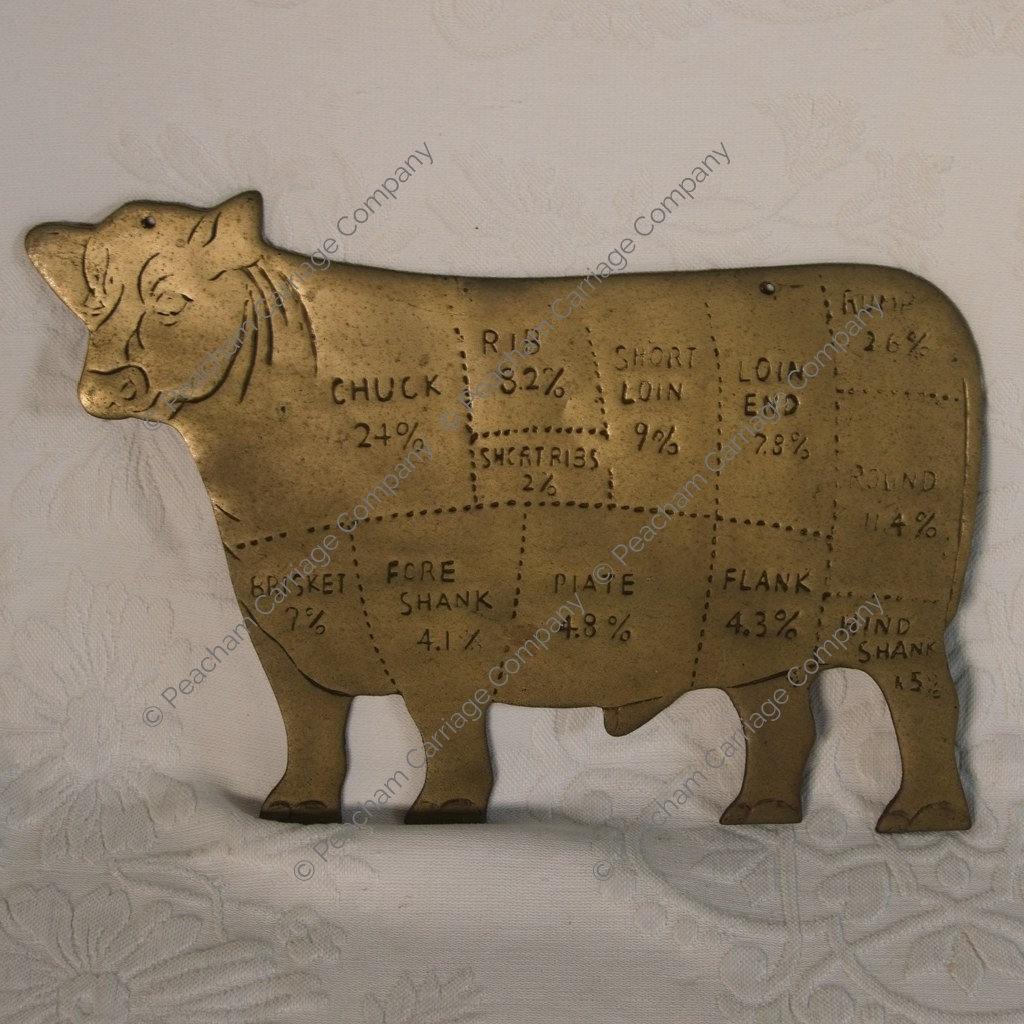 Brass Cow Butcher's Reference