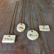 Glaced Necklaces 2