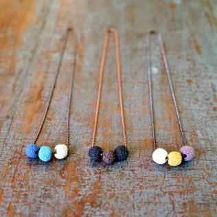 Lava Bead Necklaces 3