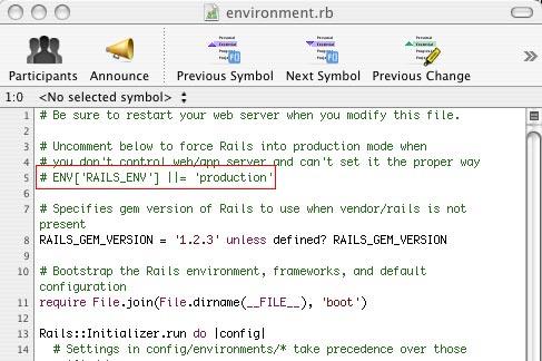 Ruby on Rails, entornos y conexión a la base de datos (3/3)