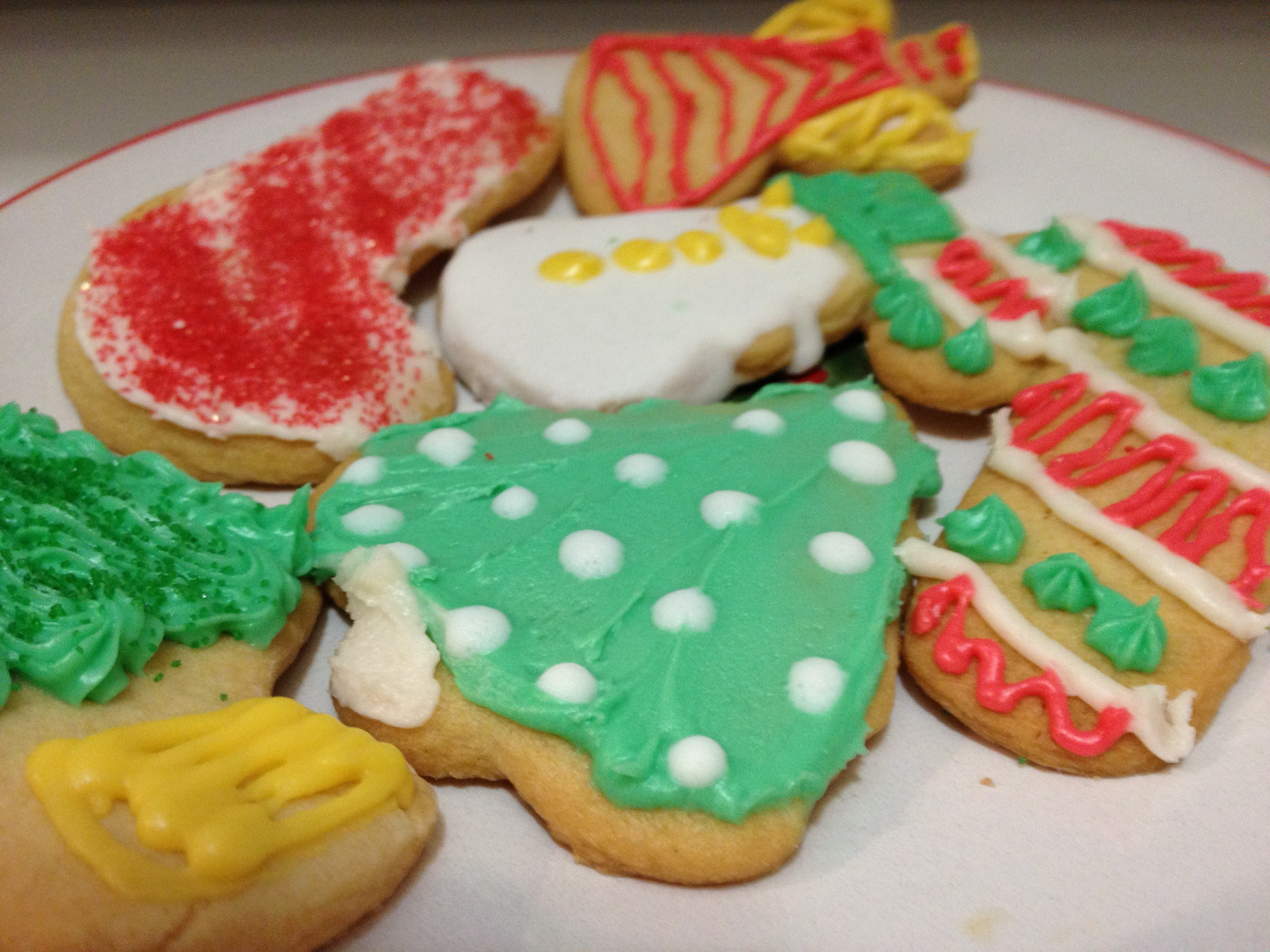 most sugar cookie recipes are made with granulated which i have