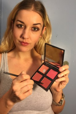 """So confession....the next shades are actually from my blush and contour palattes and aren't """"eyeshadow,"""" but I don't really follow the rules."""