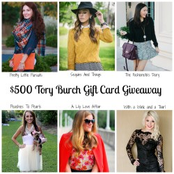 $500 Tory Burch Giveaway