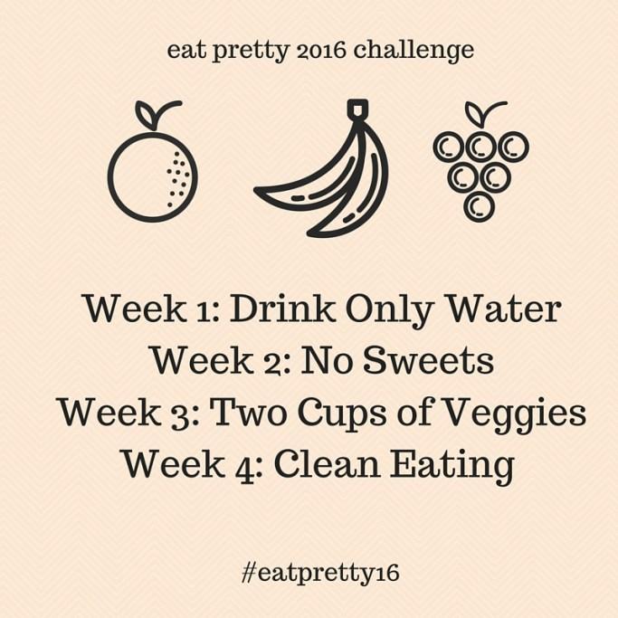 eat pretty 2016 challenge-2