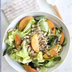 Organic Girl Recipe: Peach and Barley Salad