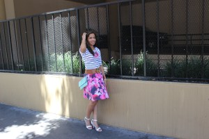 Florals and Stripes 5