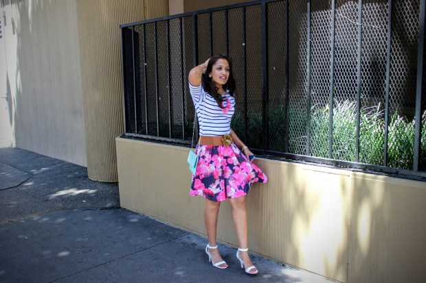 Florals and Stripes 6