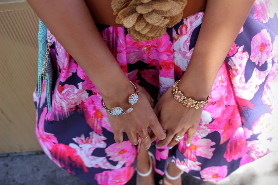 Florals and Stripes 9