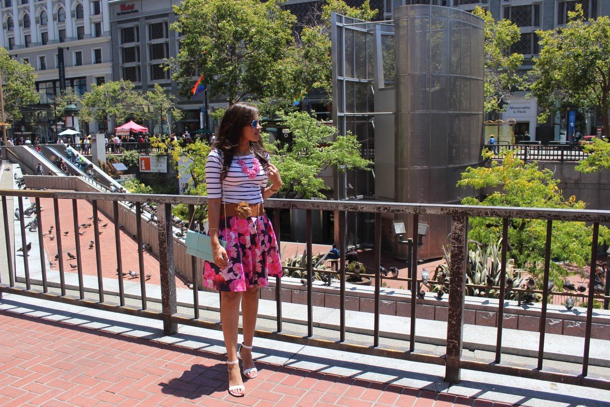Florals and Stripes 10