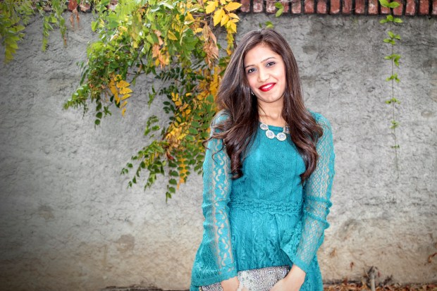 Green Lace Dress 11