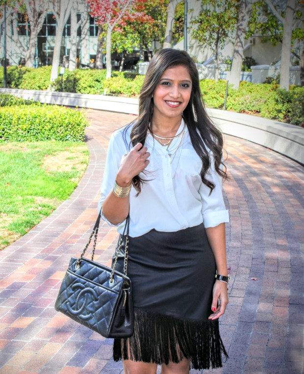 Black Leather Skirt 22