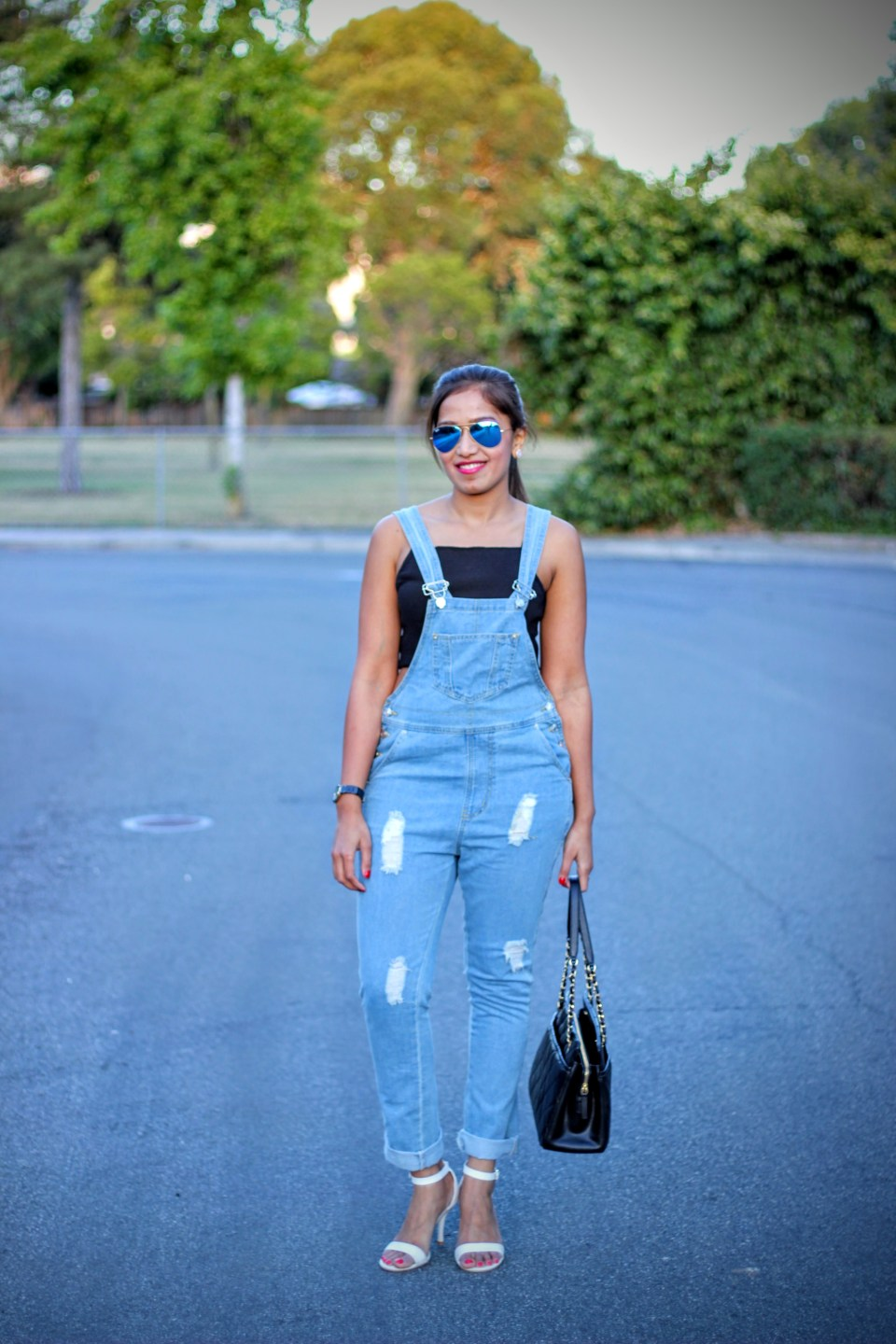 Blue Overalls 8
