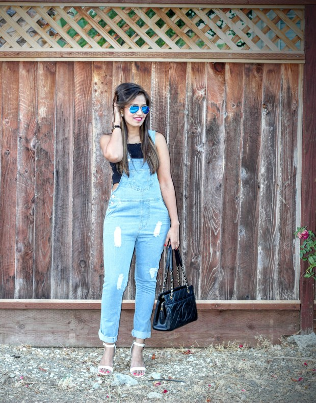 Blue Overalls 13