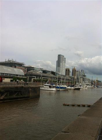 Ein Teil des Hafens