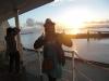 Sonnenuntergang auf dem Schiff 4