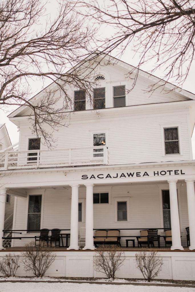 Montana Historic Hotel Sacajawea