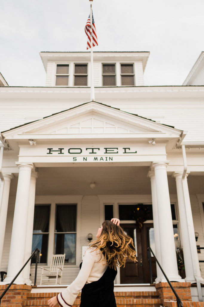 Sacajwea Hotel Three Folks Montana