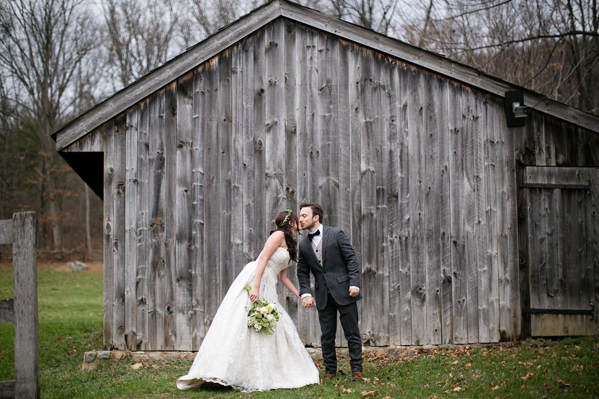 Waterloo Village Winter Wedding Riley And Stephen Peach Plum Pear Photo Philadelphia