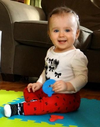Cute smiling toddler