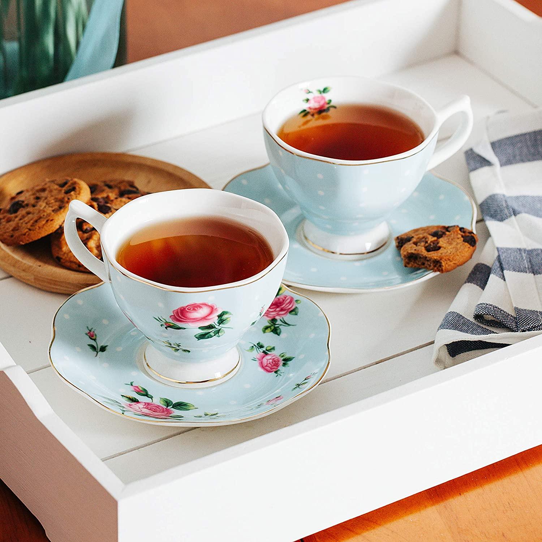 Porcelain Tea Cups | Peachy Interiors