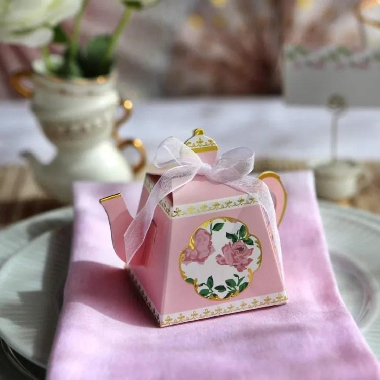 Tea Party Favour Box | Peachy Shop
