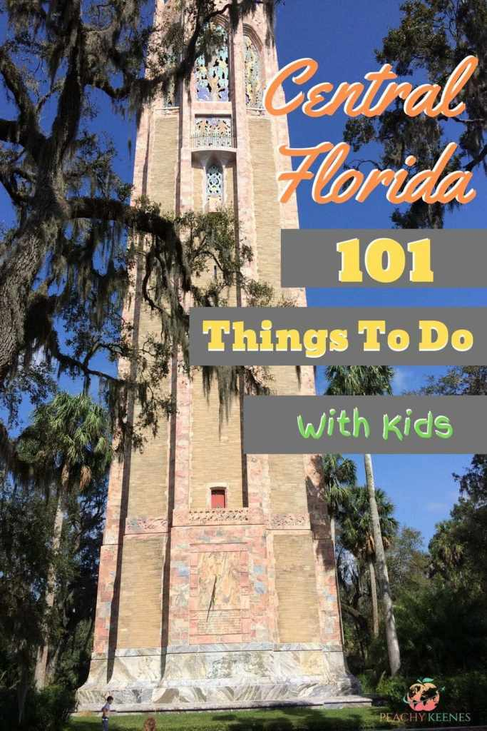 101 Things to Do In Central Florida With Kids Pinterest Pin