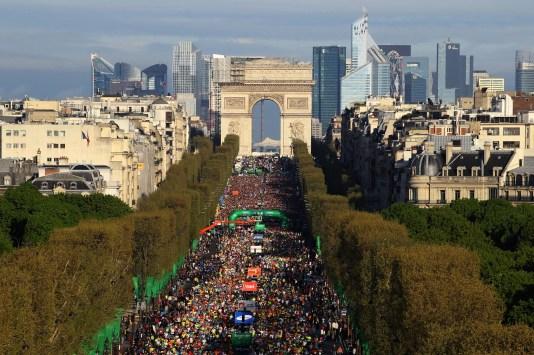 Paris Marathon 2014 race recap