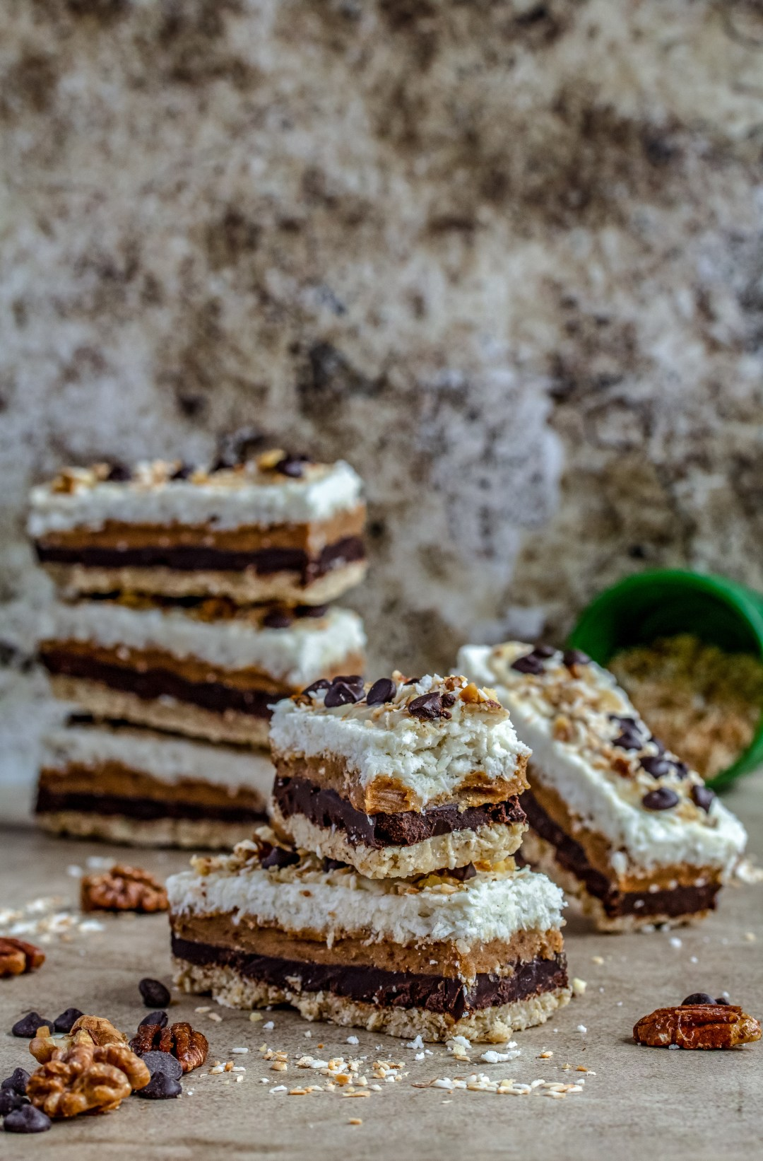 Magic Seven Layer Cookie Bars Peachy Palate